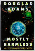 Books:Science Fiction & Fantasy, Douglas Adams. SIGNED. Mostly Harmless. Harmony, 1992. First edition, first printing. Signed by the author. Mild...