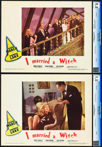 "I Married a Witch (United Artists, 1942). CGC Graded Lobby Cards (2) (11"" X 14""). ... (Total: 2 Items)"