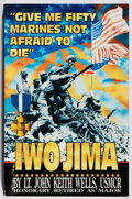 Books:Biography & Memoir, John Keith Wells. INSCRIBED. Give Me Fifty Marines Not Afraid toDie: Iwo Jima. Ka-Well, 1995. First edition, first ...