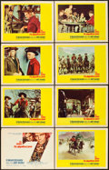 """Movie Posters:Western, The Magnificent Seven (United Artists, 1960). Lobby Card Set of 8 (11"""" X 14"""").. ... (Total: 8 Items)"""