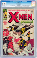 Silver Age (1956-1969):Superhero, X-Men #1 (Marvel, 1963) CGC FN+ 6.5 Off-white pages....