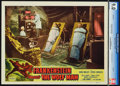 """Movie Posters:Horror, Frankenstein Meets the Wolf Man (Realart, R-1949). CGC Graded Lobby Card (11"""" X 14"""").. ..."""