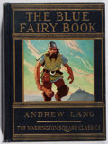 Books:Children's Books, Andrew Lang [editor]. The Blue Fairy Book. Macrae Smith, [n.d.]. Later edition. Toning and offsetting. Color plates...
