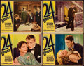 "Movie Posters:Drama, 24 Hours (Paramount, 1931). Lobby Cards (4) (11"" X 14"").. ...(Total: 4 Items)"