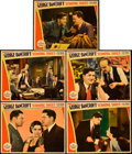 "Movie Posters:Crime, Scandal Sheet (Paramount, 1931). Lobby Cards (5) (11"" X 14"").. ...(Total: 5 Items)"