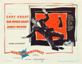 "Movie Posters:Hitchcock, North by Northwest (MGM, 1959). Half Sheet (22"" X 28"") Style A....."