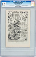 Golden Age (1938-1955):Adventure, Boy Explorers Comics #2 (Harvey, 1946) CGC NM- 9.2 Off-white to white pages....