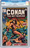 Bronze Age (1970-1979):Superhero, Conan the Barbarian #1 (Marvel, 1970) CGC NM/MT 9.8 White pages....
