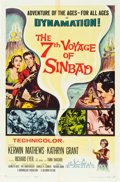 "Movie Posters:Fantasy, The 7th Voyage of Sinbad (Columbia, 1958). One Sheet (27"" X 41"")....."