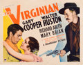 "Movie Posters:Western, The Virginian (Paramount, R-1935). Half Sheet (22"" X 28"").. ..."