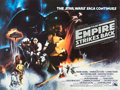 "Movie Posters:Science Fiction, The Empire Strikes Back (20th Century Fox, 1980). LondonUnderground British Quad (30"" X 40"").. ..."