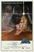 "Movie Posters:Science Fiction, Star Wars (20th Century Fox, 1977). Heavy Stock One Sheet (27"" X41"") Style A.. ..."