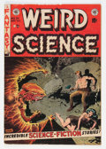 Golden Age (1938-1955):Science Fiction, Weird Science #21 (EC, 1953) Condition: FN....