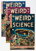 Golden Age (1938-1955):Science Fiction, Weird Science #16-19 Group (EC, 1952-53) Condition: Average VG+....(Total: 4 Comic Books)
