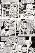 Original Comic Art:Panel Pages, John Buscema and Joe Sinnott Avengers #153 Page 10 OriginalArt (Marvel, 1976)....