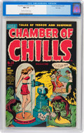 Golden Age (1938-1955):Horror, Chamber of Chills #22 (#2) File Copy (Harvey, 1951) CGC NM 9.4Cream to off-white pages....