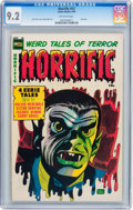Golden Age (1938-1955):Horror, Horrific #13 (Comic Media, 1954) CGC NM- 9.2 Off-white pages....