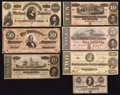 Confederate Notes:1864 Issues, 1864 Confederate Group.. ... (Total: 7 notes)