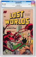 Golden Age (1938-1955):Science Fiction, Lost Worlds #6 Bethlehem pedigree (Standard, 1952) CGC VF/NM 9.0Off-white pages....