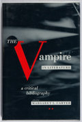 Books:Reference & Bibliography, Margaret L. Carter [editor]. The Vampire in Literature. UMI,1989. First edition, first printing. Mild rubbing, else...