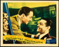 "Movie Posters:Crime, Manhattan Melodrama (MGM, 1934). Lobby Card (11"" X 14"").. ..."