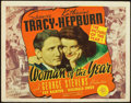 """Movie Posters:Comedy, Woman of the Year (MGM, 1942). Title Lobby Card (11"""" X 14"""").. ..."""