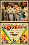 "Movie Posters:Adventure, Dirigible (Columbia, 1931). Title Lobby Card and Lobby Card (11"" X14"").. ... (Total: 2 Items)"