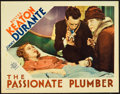 """Movie Posters:Comedy, The Passionate Plumber (MGM, 1932). Lobby Card (11"""" X 14"""").. ..."""