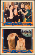 "Movie Posters:Sports, The Spirit of Notre Dame (Universal, 1931). Lobby Cards (2) (11"" X 14""). Sports.. ... (Total: 2 Items)"