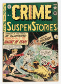 Golden Age (1938-1955):Horror, Crime SuspenStories #4 (EC, 1951) Condition: VG/FN....