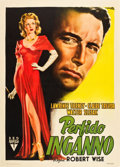 "Movie Posters:Film Noir, Born to Kill (RKO, 1946). Italian 2 - Foglio (39.5"" X 55.25"").. ..."