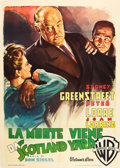 "Movie Posters:Film Noir, The Verdict (Warner Brothers, 1949). Italian 2 - Foglio (39.25"" X55.25"").. ..."