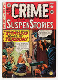 Golden Age (1938-1955):Crime, Crime SuspenStories #2 (EC, 1950) Condition: VG+....
