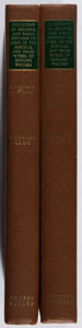 Books:Reference & Bibliography, Grolier Club. Catalogue of Original and Early Editions of Someof the Poetical and Prose Works of English Writers from L...(Total: 2 Items)