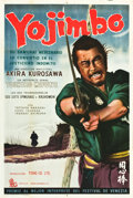 "Movie Posters:Action, Yojimbo (Toho, 1961). Argentinean Poster (29"" X 43.5"").. ..."