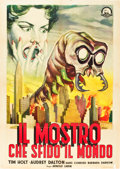 "Movie Posters:Science Fiction, The Monster that Challenged the World (United Artists, 1957).Italian 2 - Foglio (39"" X 55""). Science Fiction.. ..."