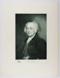 Books:Prints & Leaves, Gravure Portrait of John Adams from: The White House Gallery ofOfficial Portraits of the Presidents. New York and W...