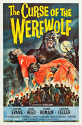"Movie Posters:Horror, Curse of the Werewolf (Universal International, 1961). One Sheet(27"" X 41"").. ..."
