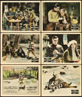 "Movie Posters:Adventure, North of Hudson Bay (Fox, 1923). Title Lobby Card & Lobby Cards(5) (11"" X 14"").. ... (Total: 6 Items)"