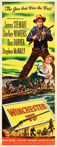 "Movie Posters:Western, Winchester '73 (Universal International, 1950). Insert (14"" X 36"").. ..."