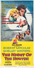 "Movie Posters:Film Noir, The Night of the Hunter (United Artists, 1955). Three Sheet (40"" X 79"").. ..."