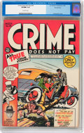 Golden Age (1938-1955):Crime, Crime Does Not Pay #26 Pennsylvania pedigree (Lev Gleason, 1943) CGC VF/NM 9.0 Off-white pages....