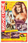 """Movie Posters:Exploitation, Wild for Kicks (Times Film Corp., 1962). One Sheet (27"""" X 41"""").. ..."""