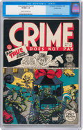 Golden Age (1938-1955):Crime, Crime Does Not Pay #28 Crowley Copy pedigree (Lev Gleason, 1943) CGC VF/NM 9.0 Cream to off-white pages....