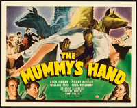 """The Mummy's Hand (Universal, 1940). Title Lobby Card (11"""" X 14""""). ... (Total: 2 Items)"""