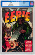 Golden Age (1938-1955):Horror, Eerie #6 Northford pedigree (Avon, 1952) CGC VF/NM 9.0 Cream tooff-white pages....