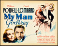 "Movie Posters:Comedy, My Man Godfrey (Universal, 1936). Title Lobby Card (11"" X 14"")....."