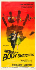 "Movie Posters:Science Fiction, Invasion of the Body Snatchers (Allied Artists, 1956). Three Sheet(41"" X 80.5"").. ..."