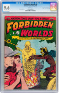 Golden Age (1938-1955):Horror, Forbidden Worlds #8 Mile High pedigree (ACG, 1952) CGC NM+ 9.6White pages....