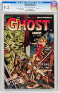 Golden Age (1938-1955):Horror, Ghost #9 (Fiction House, 1953) CGC NM- 9.2 Cream to off-whitepages....